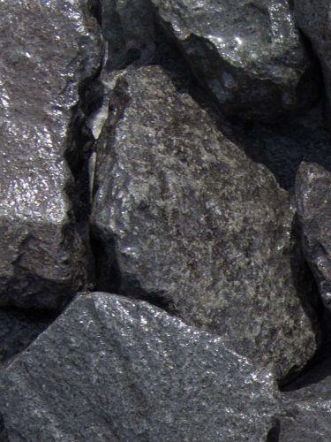 Basalt breuksteen 60 - 110mm (6 - 11cm) (nat)
