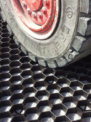 EuroGravel grindplaat zwart is zeer drukvast